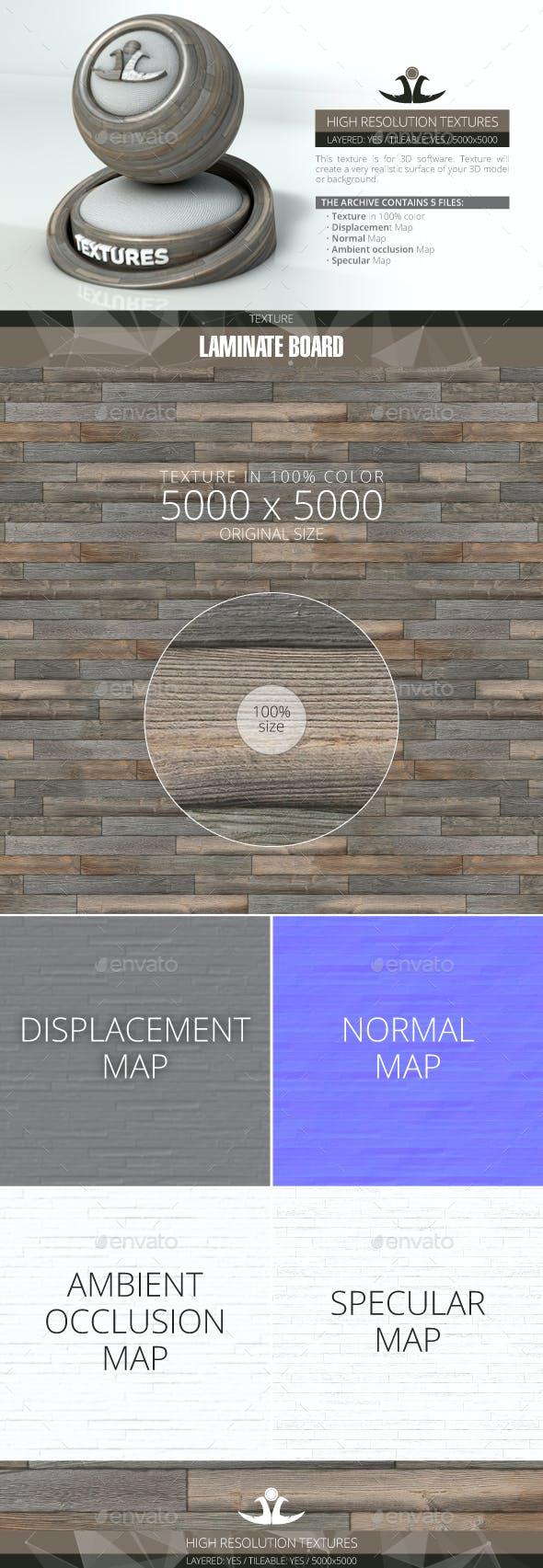 Laminate Board 75 - 3DOcean Item for Sale
