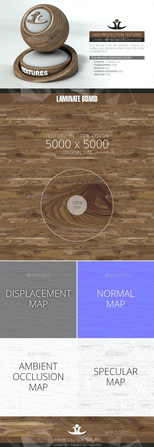 Laminate Board 88 - 3DOcean Item for Sale