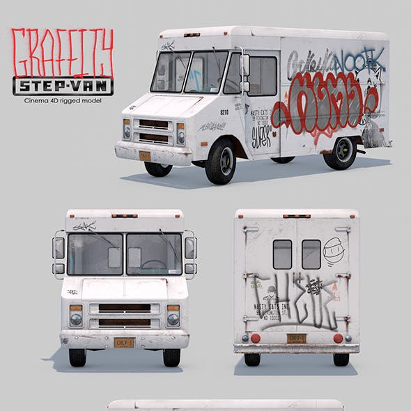 Graffity Step-Van Rigged