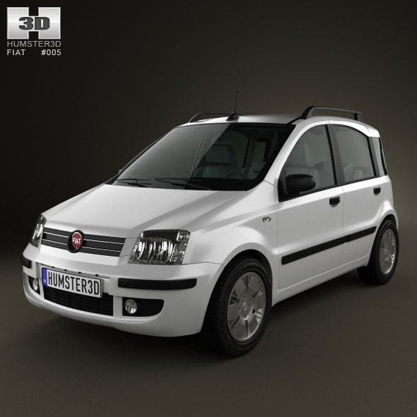 Fiat Panda - 3DOcean Item for Sale