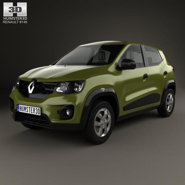 Renault Kwid 2016 - 3DOcean Item for Sale