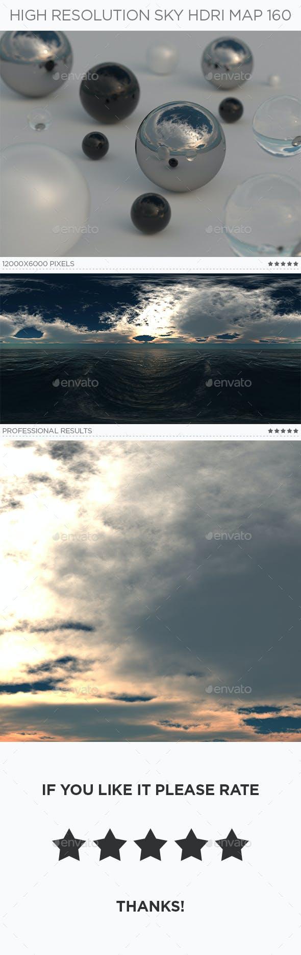 High Resolution Sky HDRi Map 160 - 3DOcean Item for Sale