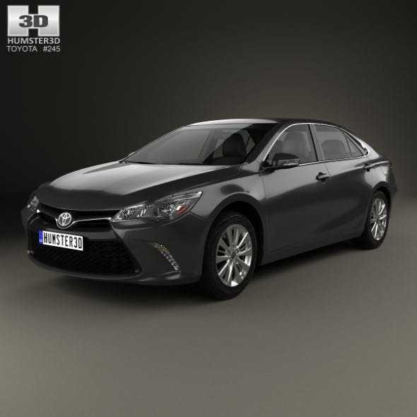 Toyota Camry Limited 2015 - 3DOcean Item for Sale