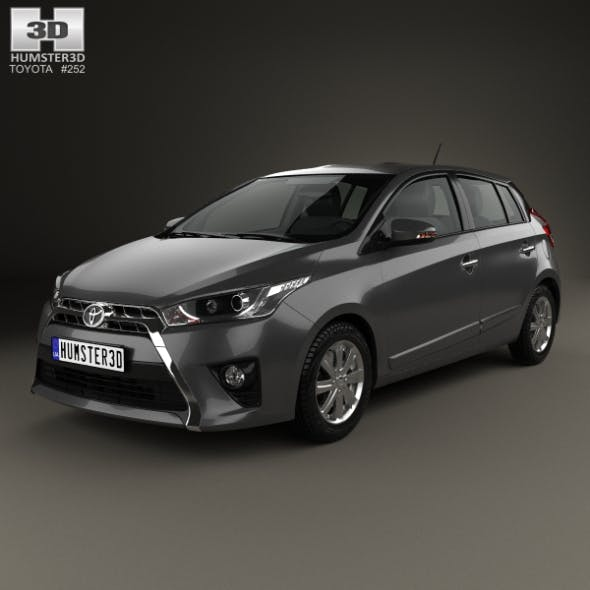 Toyota Yaris SE plus 2016 - 3DOcean Item for Sale