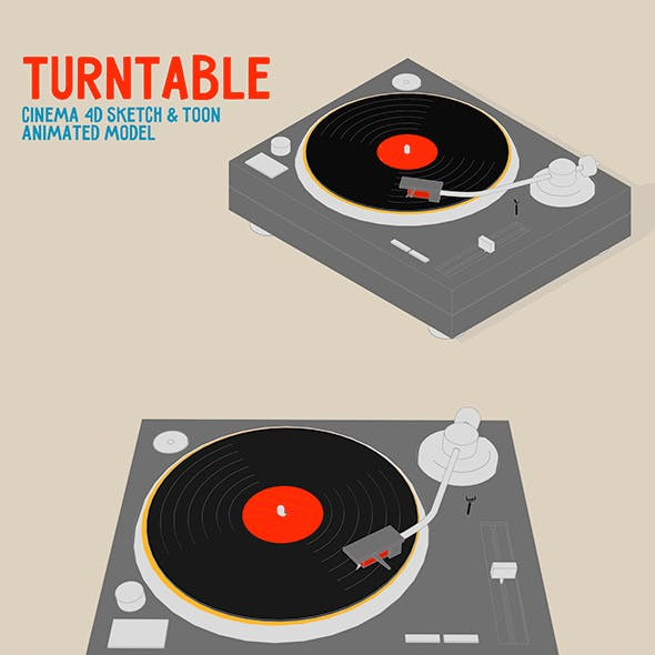 Turntable (Sketch and Toon)