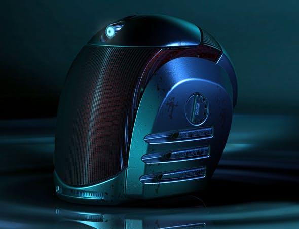 Sci-fi helmet - 3DOcean Item for Sale