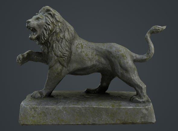 Lion Statue - 3DOcean Item for Sale