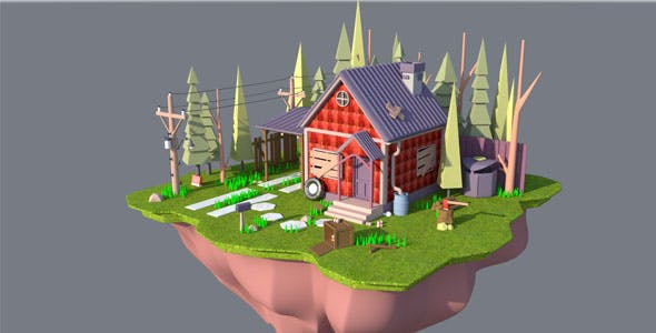 3d Environment - 3DOcean Item for Sale