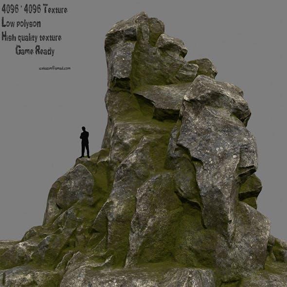 old rock - 3DOcean Item for Sale