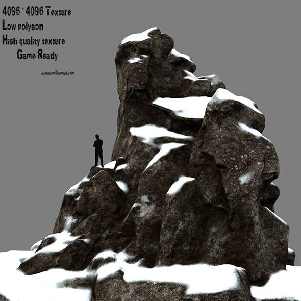 snow rocks 1