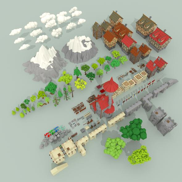 Medieval City Pack