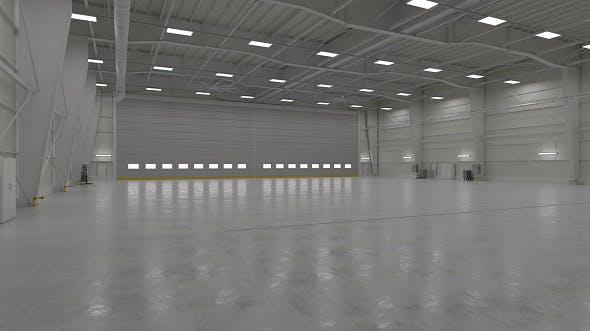 Hangar Interior 1 - 3DOcean Item for Sale
