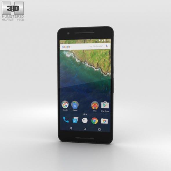 Huawei Nexus 6P Graphite - 3DOcean Item for Sale