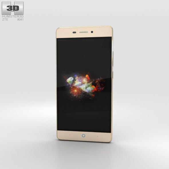 ZTE V3 Extreme Edition Gold - 3DOcean Item for Sale