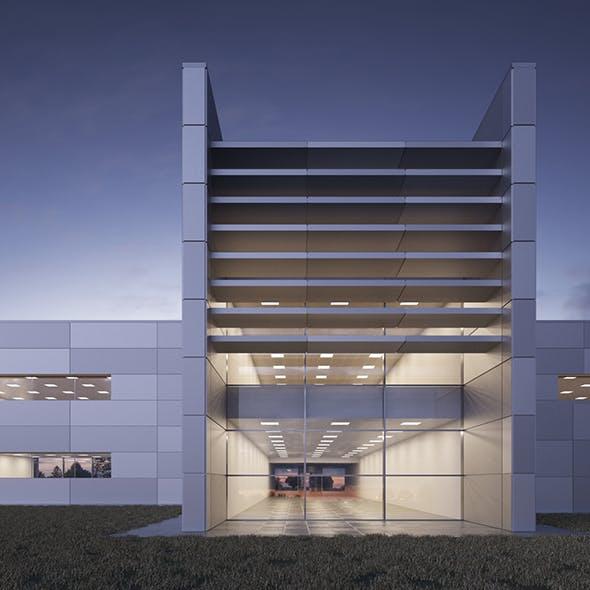 Office building - Technology Park facilities - 3DOcean Item for Sale