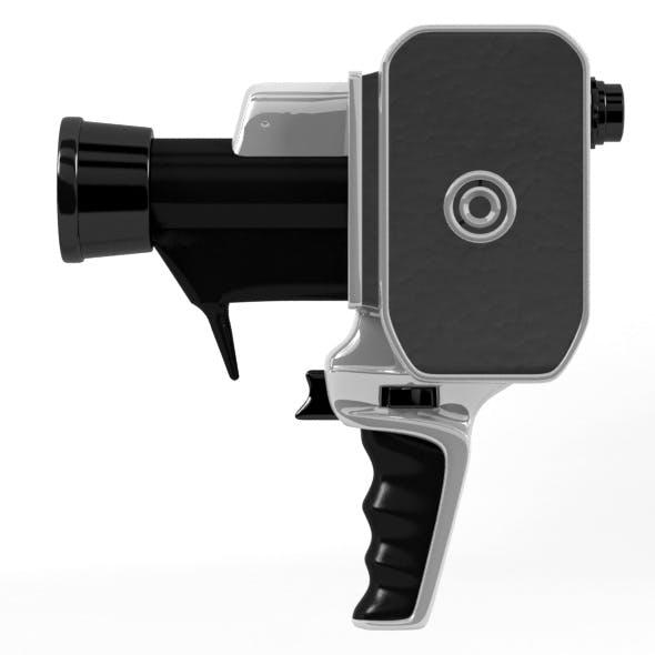 8mm camera - 3DOcean Item for Sale