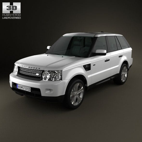 Land-Rover Range Rover 2011 - 3DOcean Item for Sale
