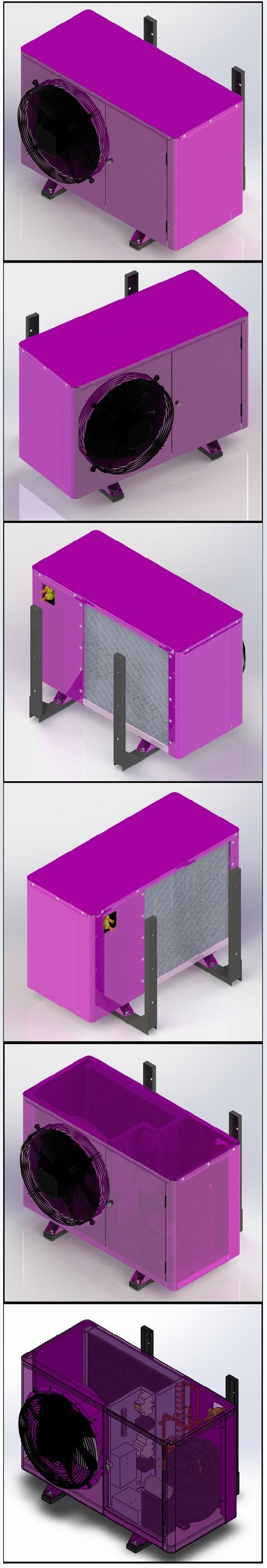 Split system, condenser - 3DOcean Item for Sale