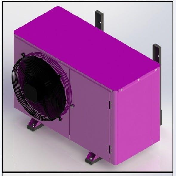 Split system, condenser