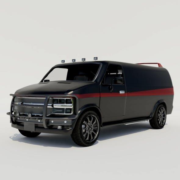 Van - 3DOcean Item for Sale