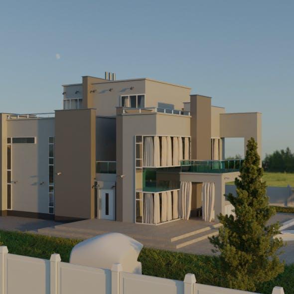 House hi tech - 3DOcean Item for Sale