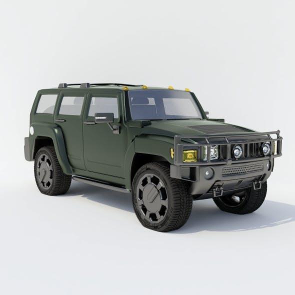 Hummer H2 - 3DOcean Item for Sale
