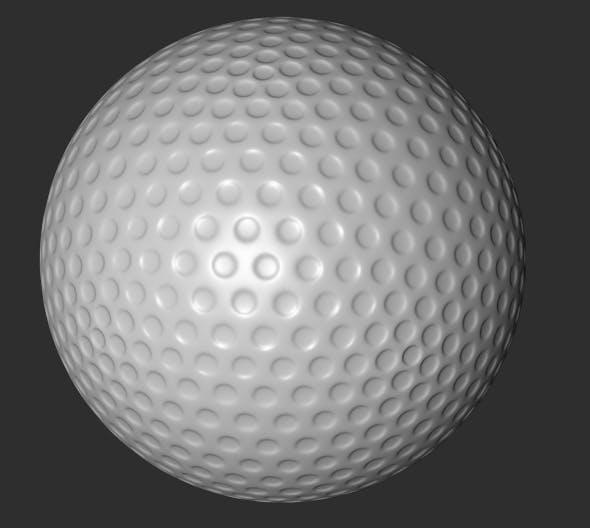 C4D Golf Ball Model - 3DOcean Item for Sale