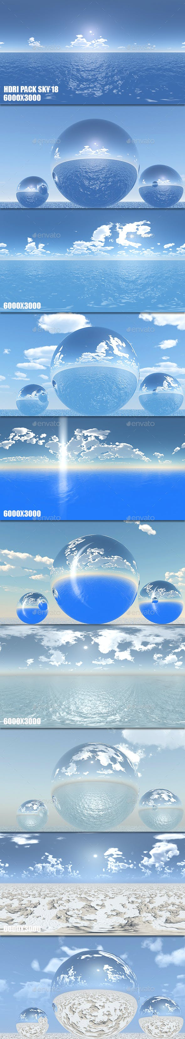 HDRI Pack Sky 18 - 3DOcean Item for Sale