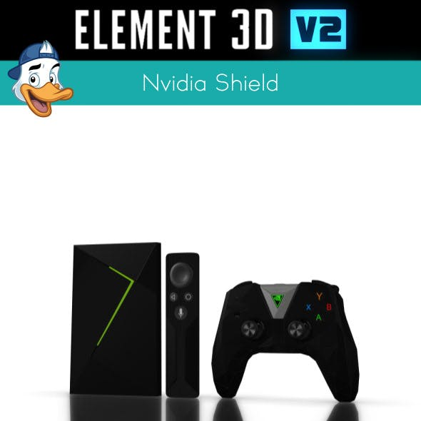 Nvidia Shield for Element 3D