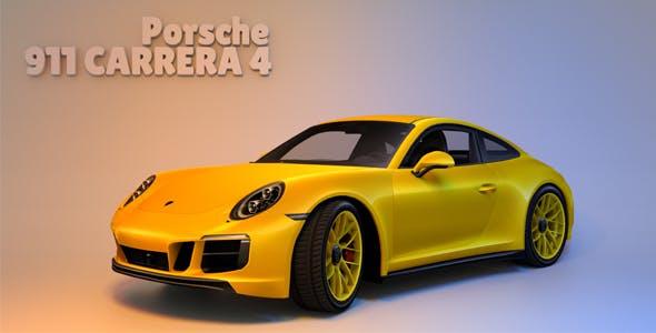 Porsche 911 Carrera 4 - 3DOcean Item for Sale
