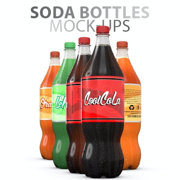 Soda Bottles Mock-ups