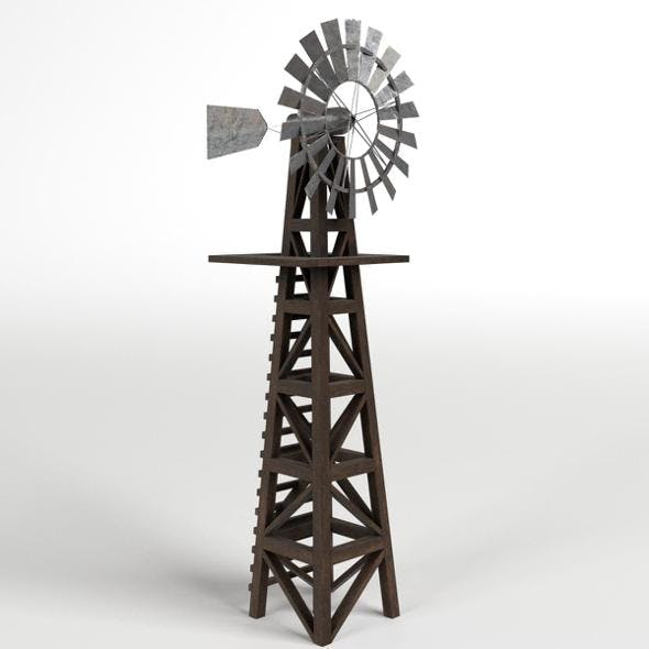 Windmill 2 - 3DOcean Item for Sale
