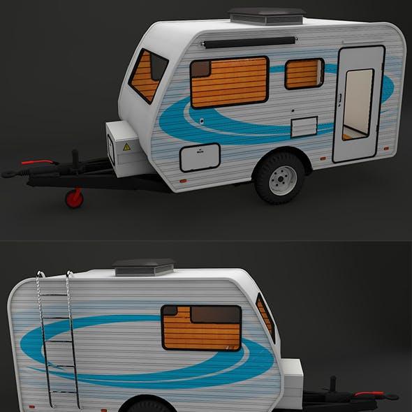 Caravan House Car - FULL Edition with Textures 1080