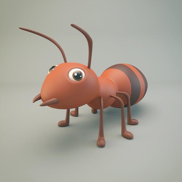 Cartoon Ant - 3DOcean Item for Sale