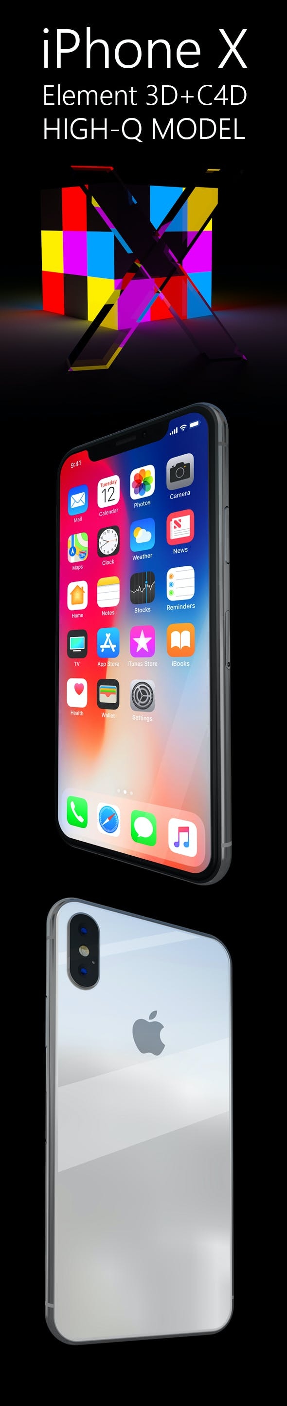iPhone X - 3DOcean Item for Sale