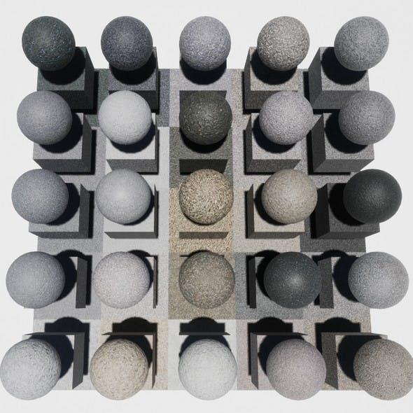 Asphalt Mobile Materials Package Volume 1 - 3DOcean Item for Sale