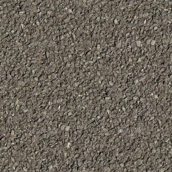 Asphalt Seamless Texture Set Volume 1 - 3DOcean Item for Sale