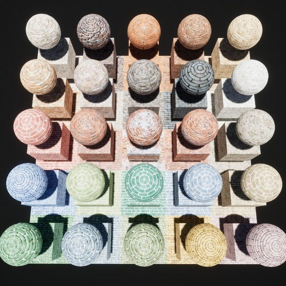 Brick Console Materials Package Volume 1