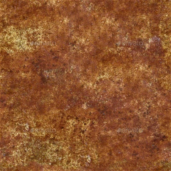 Rusty Metal Seamless Texture Set Volume 2 - 3DOcean Item for Sale