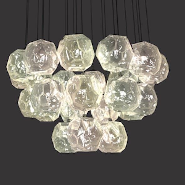 Boule De Cristal Round Cluster Chandelier