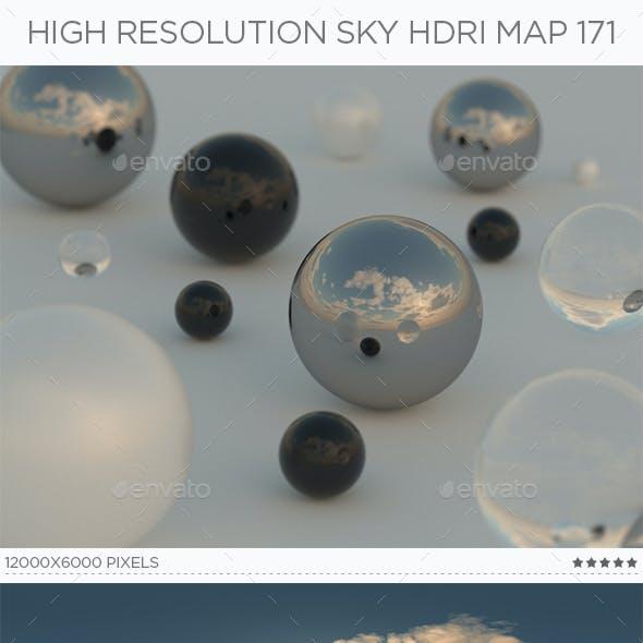 High Resolution Sky HDRi Map 171
