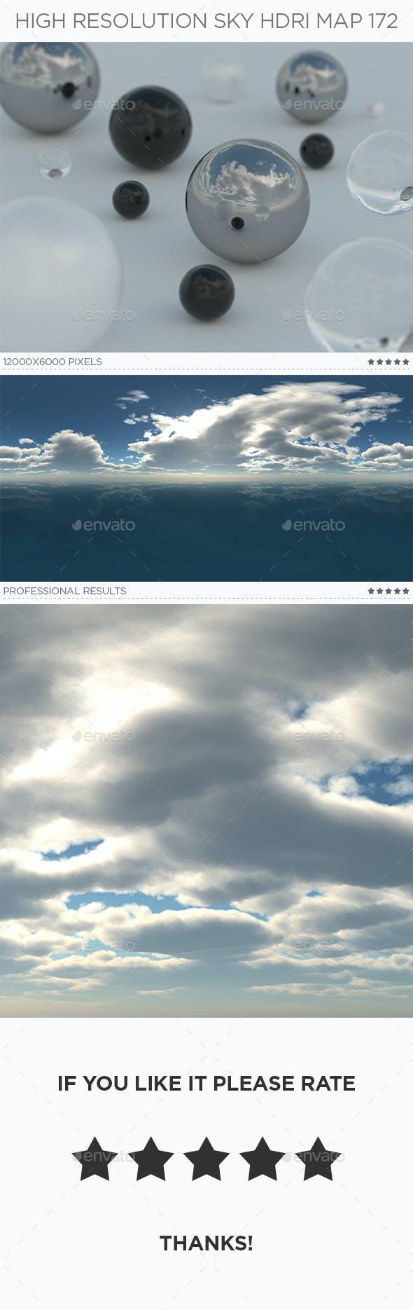 High Resolution Sky HDRi Map 172 - 3DOcean Item for Sale