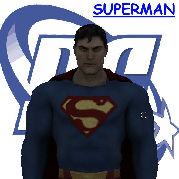 Superman - 3DOcean Item for Sale