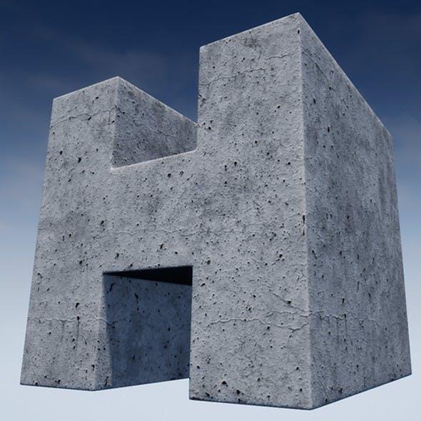 Concrete Mobile Material - 3DOcean Item for Sale
