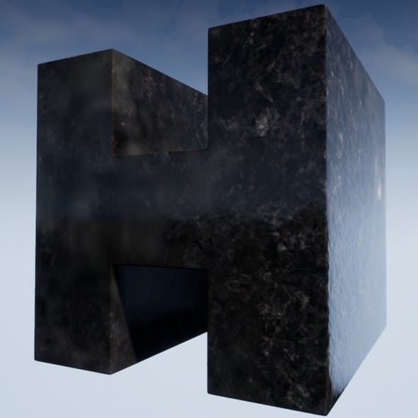 Marble Console Material - 3DOcean Item for Sale
