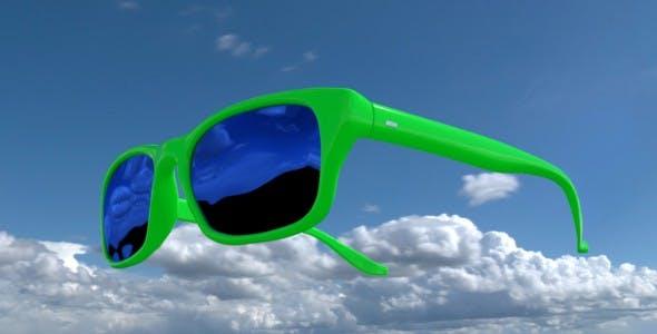Sunglasses - 3DOcean Item for Sale