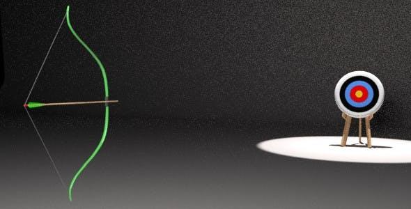 Animated Bow Shooting Arrow - 3DOcean Item for Sale