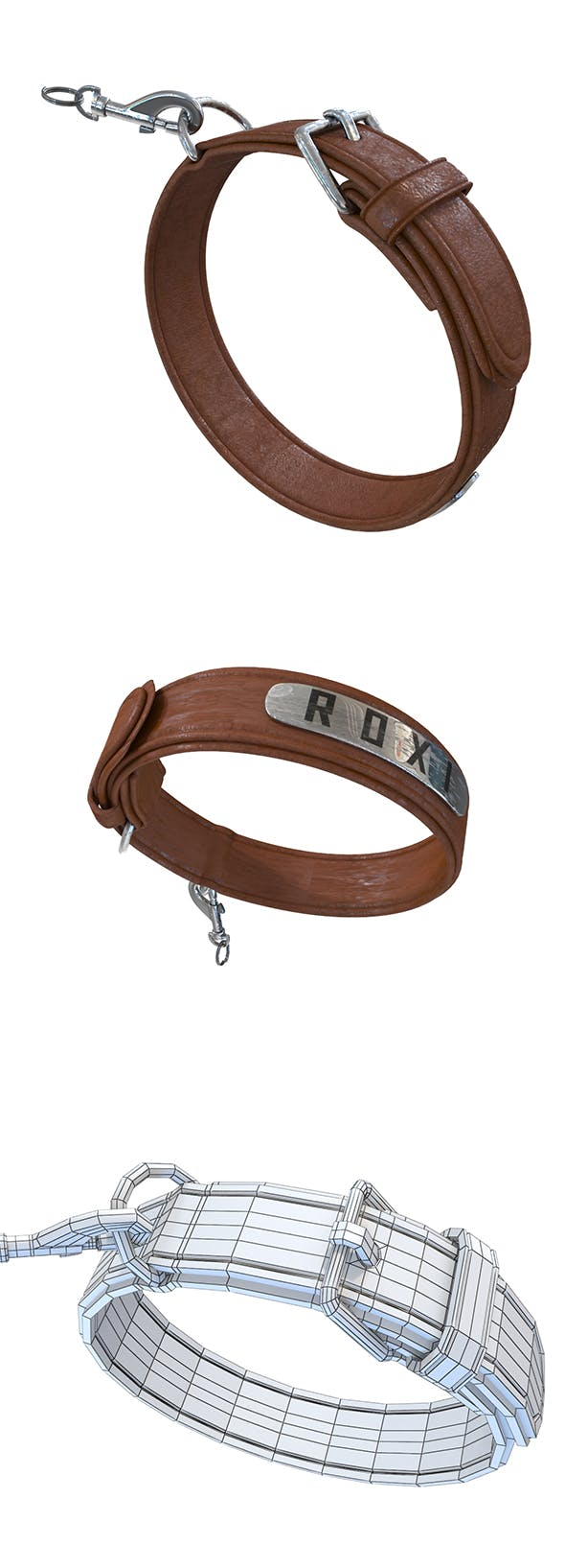 Dog Collar - 3DOcean Item for Sale