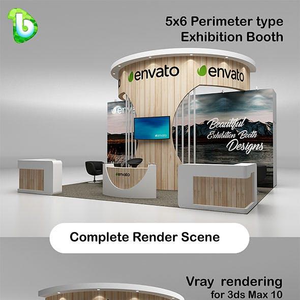 Exhibition Booth - Perimeter 5x6