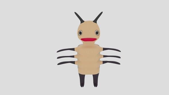 Cartoon Bug - 3DOcean Item for Sale